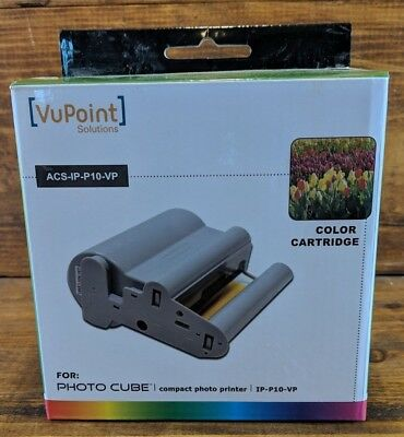 Vupoint Solutions Photo Cube Mini Refill Cartridge Acs2 Ip P01 Vp