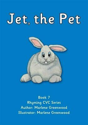 Jet, the Pet (Red CVC Series) by Greenwood, Marlene Paperback Book The Cheap