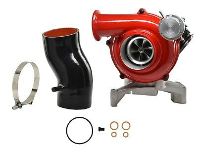 7.3L 99.5-03 Ford Powerstroke DTPD38R Ceramic Ball Bearing Turbocharger Red