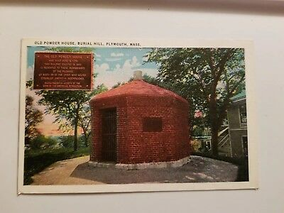 Linen View - Old Powder House - Burial Hill - Plymouth, Massachusetts