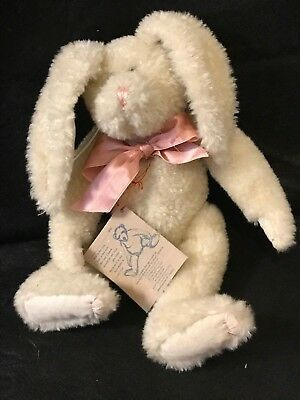 """Boyds Bears Investment Collection Beecher B Bunny Jointed 12"""" Rabbit Retired"""