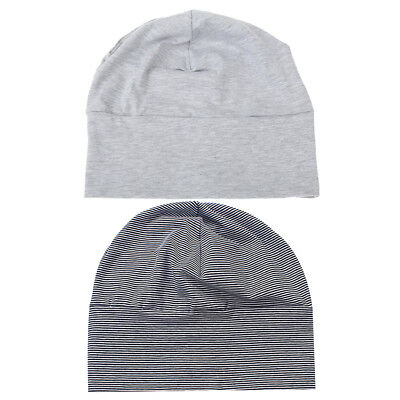2pcs Adults Unisex Soft Cotton Night Cap Sleep Patch Sleeping Head Hats