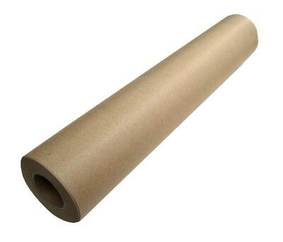 Brown Kraft Paper Roll 450mm x 50m Packing Wrapping Gifts- PREMIUM Quality
