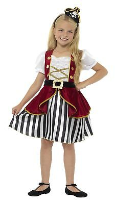 Childs Deluxe Pirate Captain Fancy Dress Costume Childrens Outfit by Smiffys