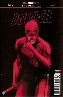 DAREDEVIL #612 NM Regular Phil Noto Cover – MARVEL COMICS 2018 netflix death of