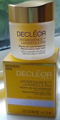 Decleor Aromessence Lavandula Iris Rejuvenating Night Balm - 15Ml - Boxed