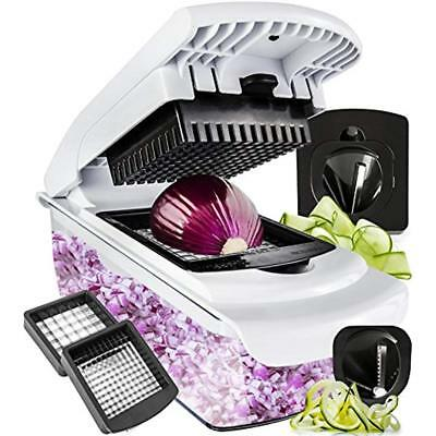 Vegetable Graters Peelers & Slicers Chopper Spiralizer - Dicer Onion Food Pro