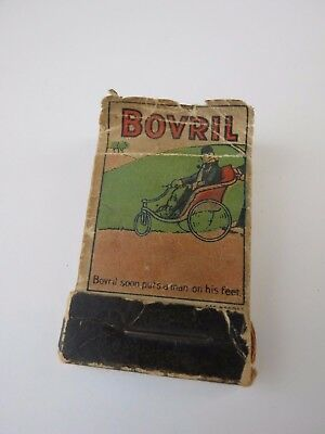 Very Rare Circa 1920's Advertising Bovril Soon Puts A Man On His Feet  Flip Book