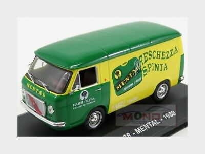 Fiat 238 Van Mental 1969 Green Yellow Edicola 1:43 VPDC087