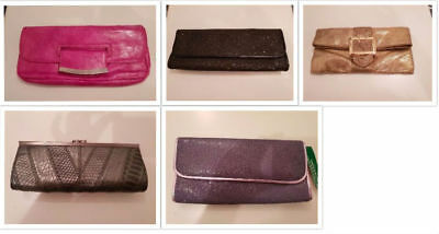 * Used once * 5 clutch bags (job lot) *