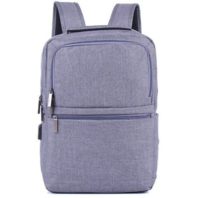 ZUOLUNDUO 014 15 inch Simple Travel Leisure Backpack - Ash Gray
