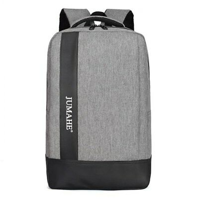 15.6 inch Business Leisure Shockproof Backpack - Ash Gray