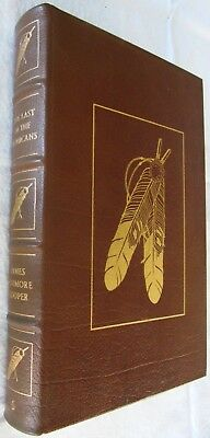 Easton Press: The last of the Mohicans by James Fenimore Cooper 1979