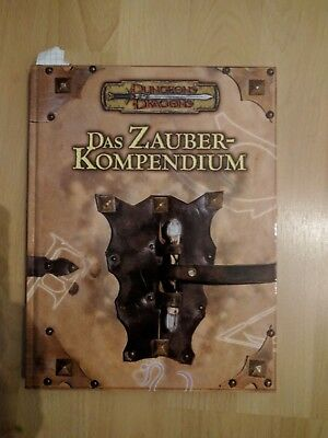 D&D 3.5 Dungeons and Dragons Das Zauber-Kompendium