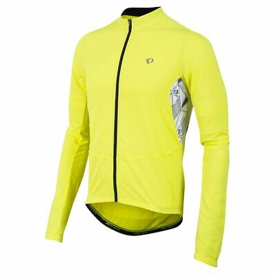 5fc1e64ac Pearl iZUMI Select Attack Jersey Long Sleeve Screaming Yellow Cycling Jersey  M