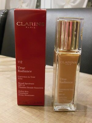Fond de teint True radiance 112 Clarins 30ml