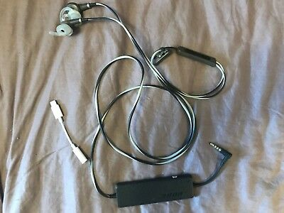 Bose QC20i QuietComfort Acoustic Noise Cancelling In-ear Headphones for IPHONE