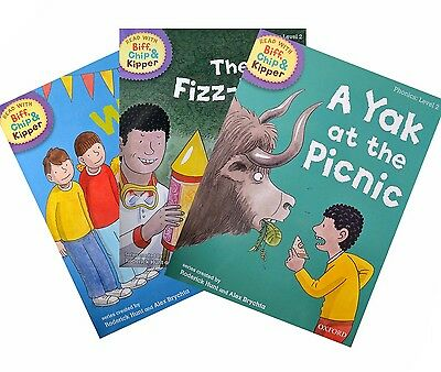 Biff, Chip and Kipper - Level 2 - Phonics Collection (3 books)