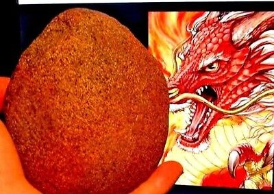 THE RED DRAGON,w,CROWN EGG,DRAGONS MAGIC STONE,EGGS MT. KAILASH TIBET,w,STAR