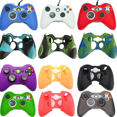Silicone Case Soft Rubber Gel Grip Skin Cover for Xbox 360 Wireless Controller