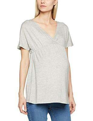 Mamalicious Mltrille S/S Jersey Top A, Camicia Donna - NUOVO