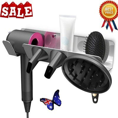 For Dyson Supersonic Stand Bracket Holder Aluminum Alloy Hair Dryer Wall Mount
