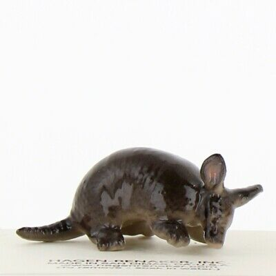 Texas Armadillo Miniature Figurine Wildlife Model made in USA by Hagen-Renaker