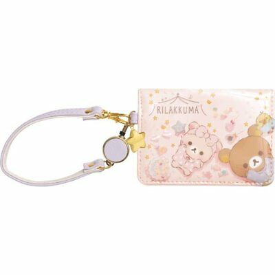 Pre Sale Rilakkuma & Korilakkuma Pass Case Reel Pajama Party San-X PB58801 F/S