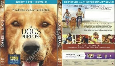 A Dog's Purpose (Blu-ray SLIPCOVER ONLY * SLIPCOVER ONLY)