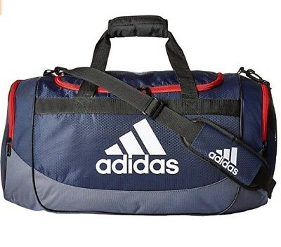 e4edf16afead ADIDAS UNISEX MEDIUM Defense Duffel Collegiate  Navy/Onix/Scarlet/Black/White,One