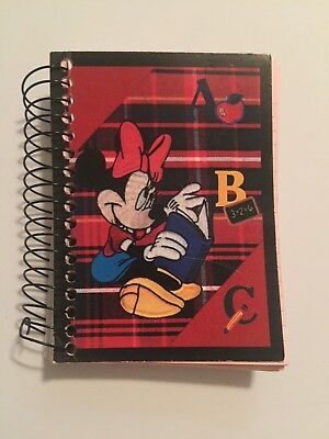 Disney Minnie Mouse Notepad Notebook