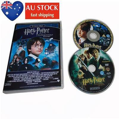 AU New Harry Potter 1-8 Movie DVD Complete Collection Films Box Set New Sealed