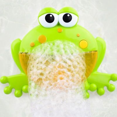 Frog Bubble Maker Bath Toys Crab Music Bubble Maker Bathroom Newborn Gift New