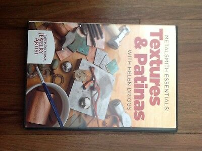 Metalsmith Essentials - Textures and Patinas by Helen Driggs (2011 DVD)