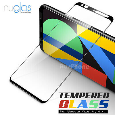 NUGLAS Google Pixel 4 3 XL 2 XL 3D Full Screen Protector Curved Tempered Glass