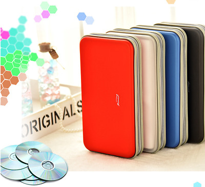 80 DVD CD DISC Holder Album Storage Case Folder Wallet Carry Bag Organizer