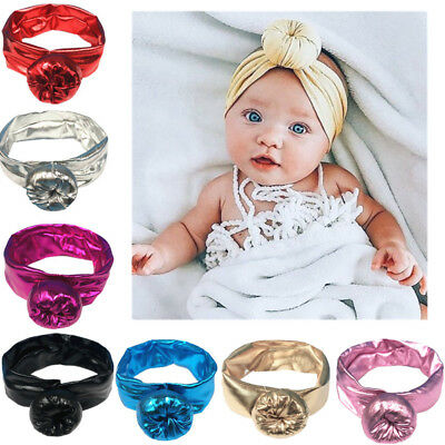 Toddler Kids Girl Baby Boy Infant Headband Turban Hair Band Headwear US STOCK