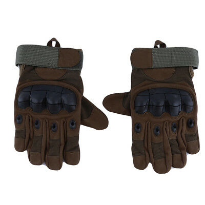 Practical Military Mittens Gloves Protective Outdoor Hard Knuckle Gloves B