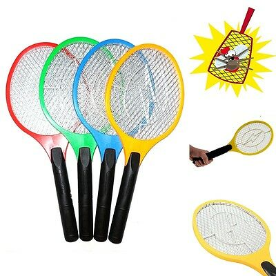 Electric Fly Insect Swat Swatter Bug Mosquito Wasp Zapper Electronic A33
