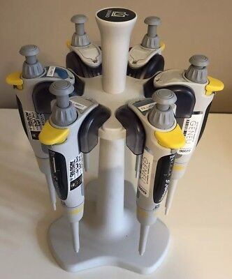 A Set of 6 Fisher Brand Transferpette S Pipettes