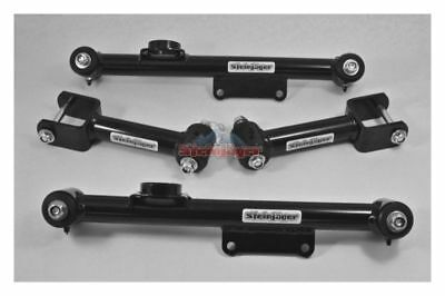 Chrome Moly DOM Steinjager 79-98 Mustang Control Arms Rear Lower Double Adj