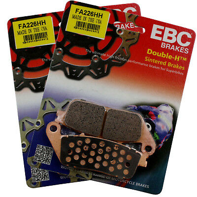 EBC FA140HH Replacement Brake Pads for Rear Triumph Tiger 800 ABS 11-13