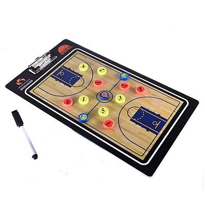 Magnetic Basketball Tactic Coaches Coaching Board Game Match Training Equipment