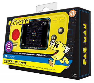 Pac-Man Hits Handheld Gaming System Electronic Games