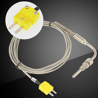 K-Type EGT Thermocouple Probe Temperature Controller Wire Sensor Stainless Steel
