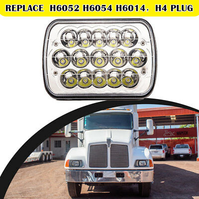 "7x6/"" LED Sealed Headlight Set For International Harvester 4700 4800 4900 8100"