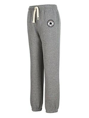 CONVERSE All Star Boys Knit Joggers / Trousers Boys Grey 13-15 years BNWT