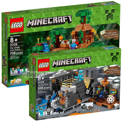 LEGO MINECRAFT - 21124 - The End Portal - NEW - SEALED - FREE