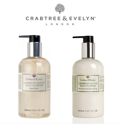 Crabtree & Evelyn Caribbean Island Hand Therapy & Hand Wash Gift Set Free Post