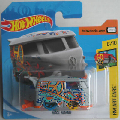 Hot Wheels VW Bus T1 Volkswagen Kool Kombi mattgrau HW Art Cars Neu/OVP Dragster